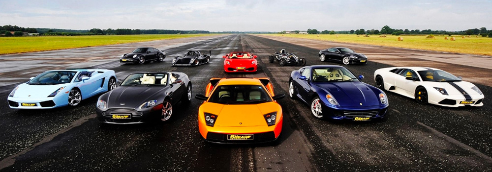 large range supercars